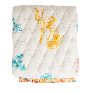 Bambi Reversible Baby Quilt