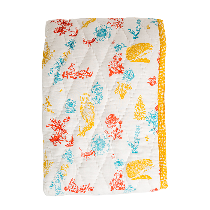 Bambi Reversible Kids Quilt