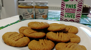 Peanut Butter Cookies for Macmillan Coffee Morning