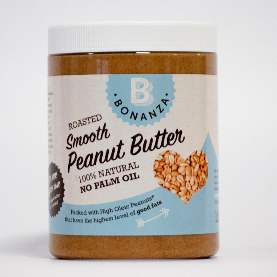 1 x 1kg Smooth Peanut Butter