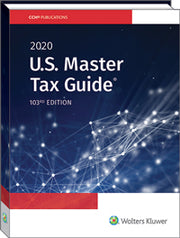 2020 US Master Tax Guide (TAX045) - 20 CPE Hours