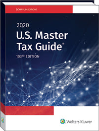 2020 US Master Tax Guide (TAX047) - 24 CPE Hours