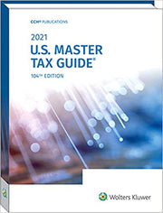 2021 US Master Tax Guide (TAX146) - 40 CPE Hours