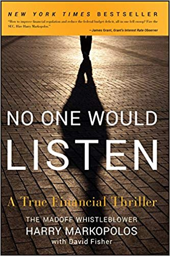 No One Would Listen: A True Financial Thriller (BUS690) - 20 CPE Hours