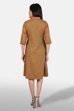 Muslin Shirt Dress - Kapaas N Resham