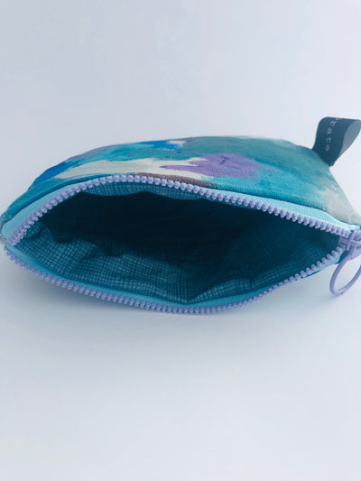 Painted Zippered Pouch