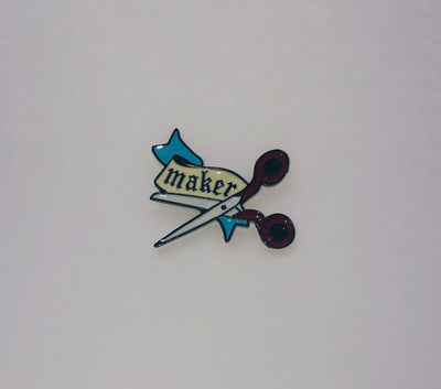 Makers Gonna Make Enamel Badge