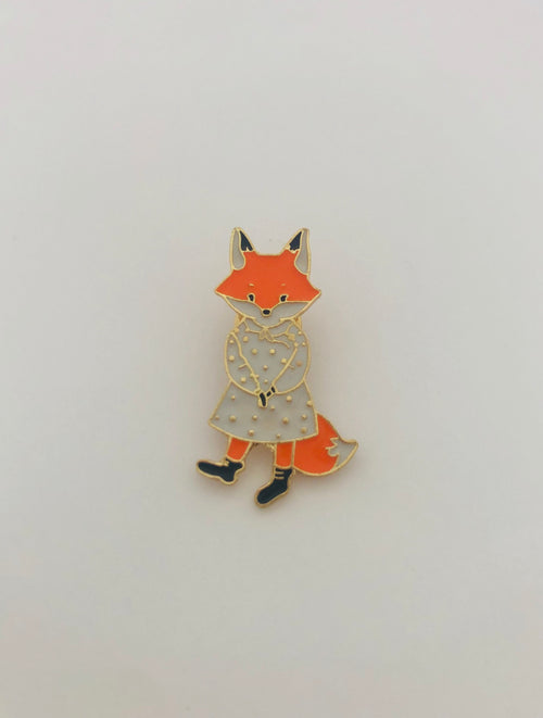 Fox Badge-Stella