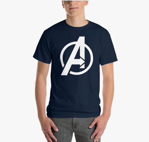 AVENGER COTTON NAVY BLUE T-SHIRT