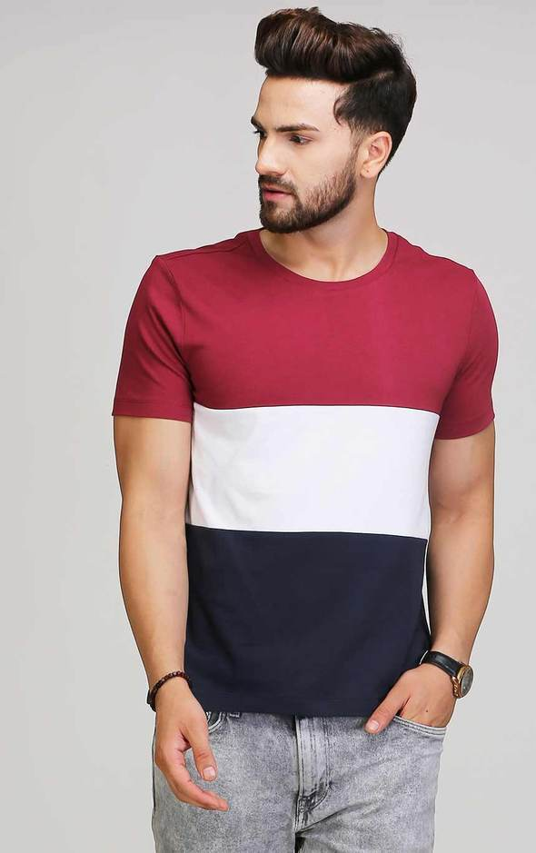 ROUND NECK HALF SLEEVES T SHIRT