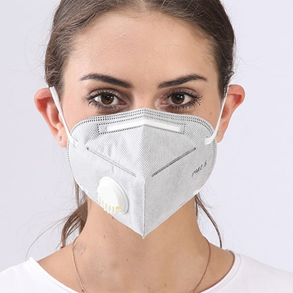 KN95 6 Layer Mask With Filter Valve Masks (CERTIFIED)