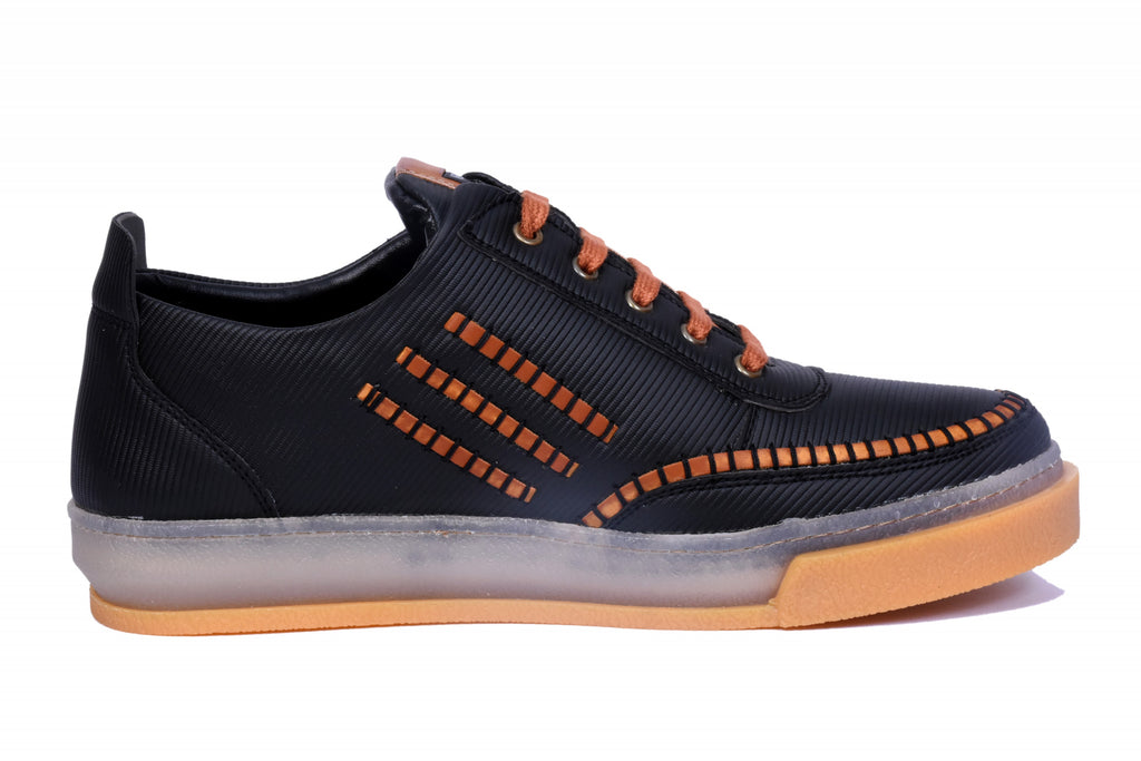 Ultra Check Black Casual Men's Shoes