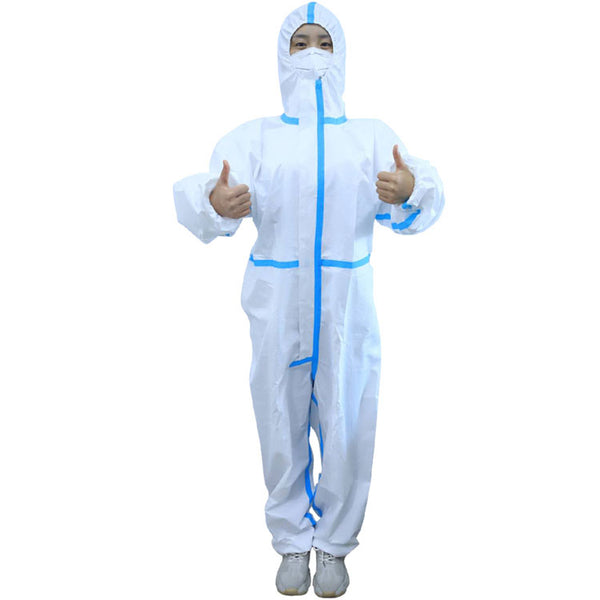 Full body disposable hospital doctor personal ppe kit