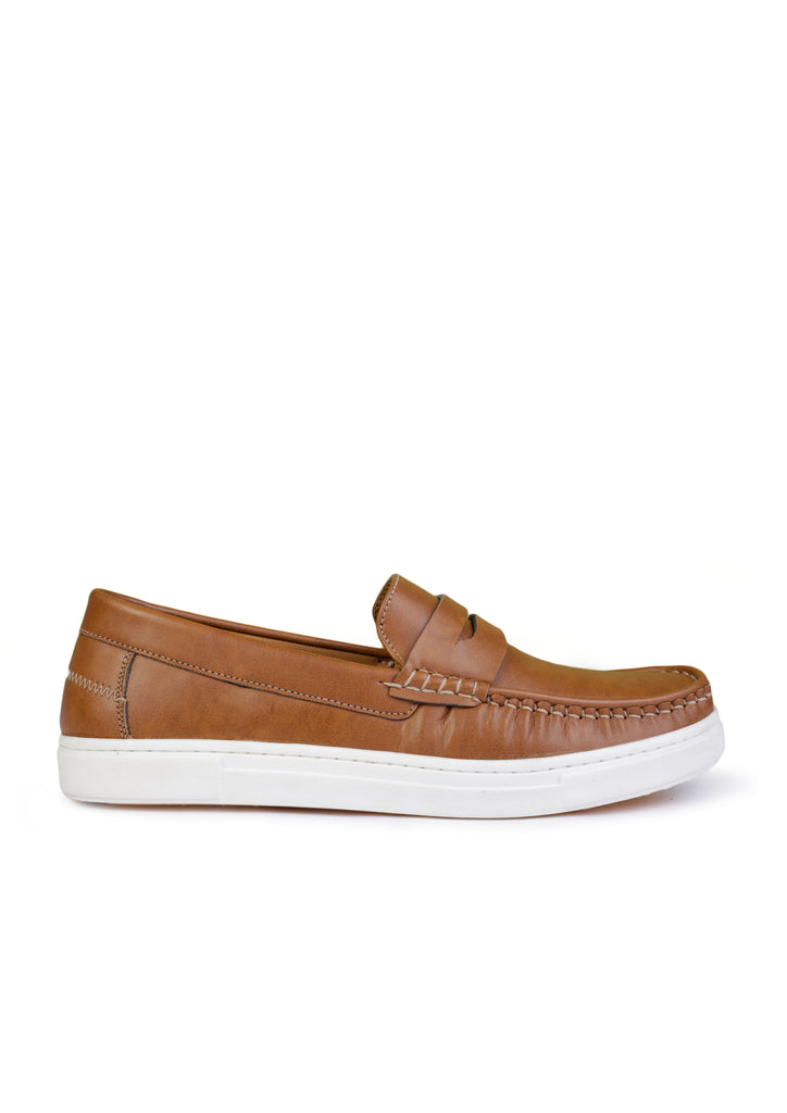 BROWN SPORTS LOAFERS