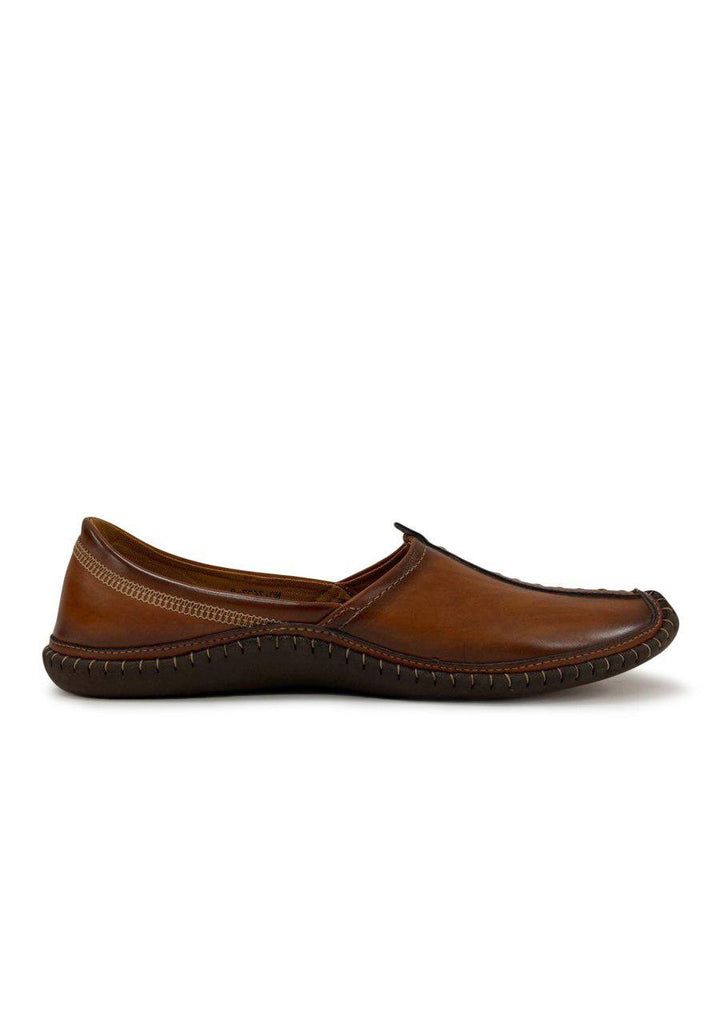 Kolhapuri Juttis Mojaris For Men(TAN)