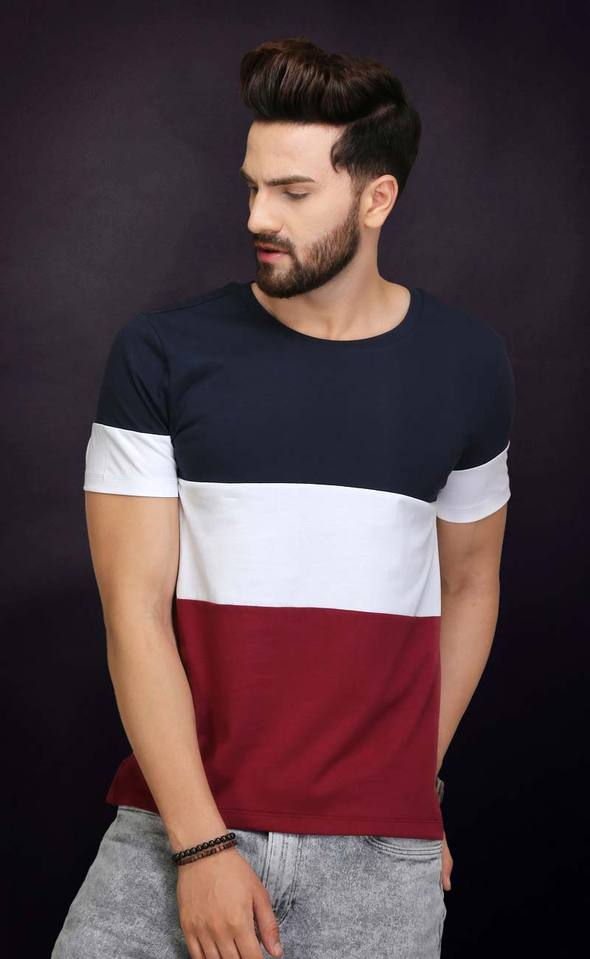 STYLISH ROUND NECK T SHIRT