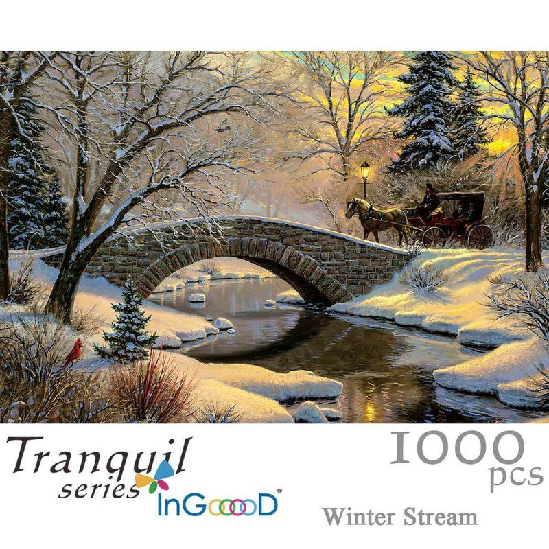 Ingooood Wooden Jigsaw Puzzle 1000 Pieces for Adult - Boundless