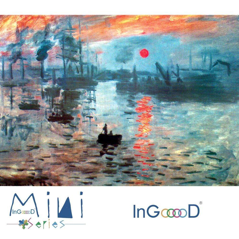 InGooooD - World Mini Jigsaw Puzzle 1000 Pieces For Adults and Kids - Impression, Soleil Levant - Ingooood_US