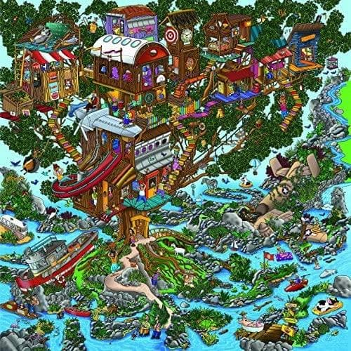 Ingooood Wooden Jigsaw Puzzle 1000 Pieces for Adult - Rainy Night Walk - Ingooood_US