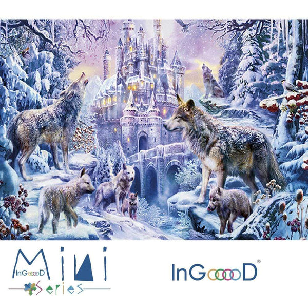 InGooooD - World Mini Jigsaw Puzzle 1000 Pieces For Adults and Kids - Twilight - Ingooood_US