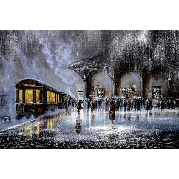 Ingooood Wooden Jigsaw Puzzle 1000 Pieces for Adult-Farewell Station - Ingooood jigsaw puzzle 1000 piece