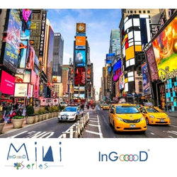 InGooooD - World Mini Jigsaw Puzzle 1000 Pieces For Adults and Kids - Time Square