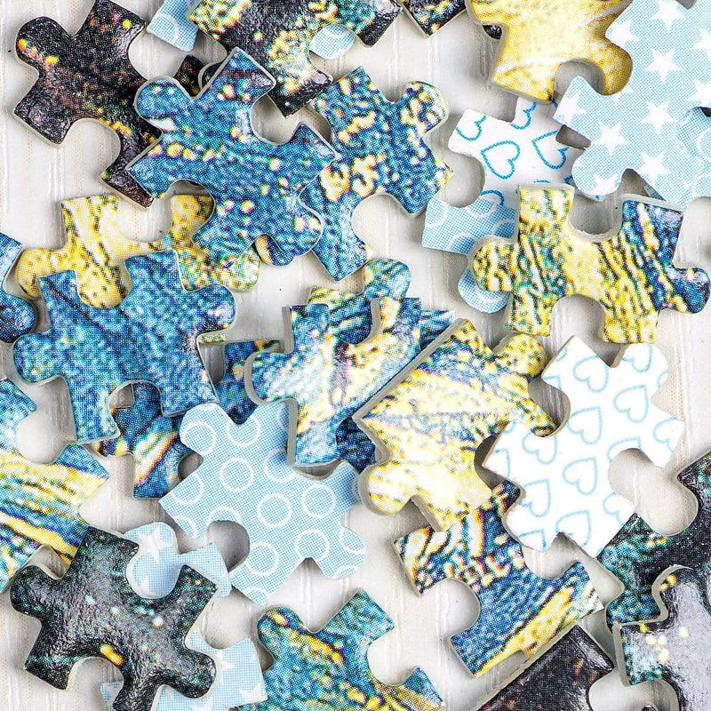 InGooooD - World Mini Jigsaw Puzzle 1000 Pieces For Adults and Kids - Star Train