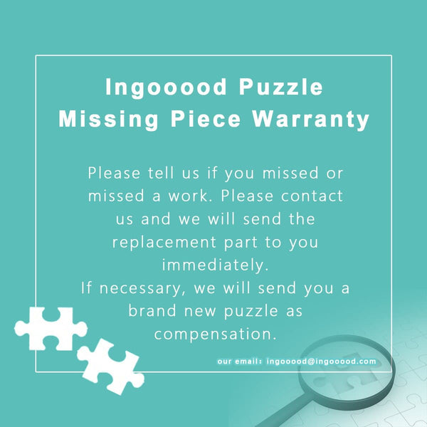 Ingooood Wooden Jigsaw Puzzle 1000 Pieces for Adult-Colored spots - Ingooood jigsaw puzzle 1000 piece