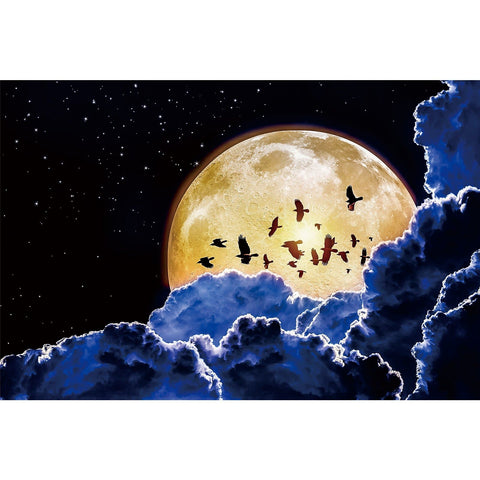 Ingooood Wooden Jigsaw Puzzle 1000 Pieces for Adult-full moon - Ingooood jigsaw puzzle 1000 piece