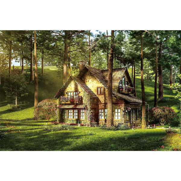 Ingooood Wooden Jigsaw Puzzle 1000 Pieces for Adult-Dream House - Ingooood jigsaw puzzle 1000 piece