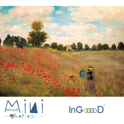 InGooooD - World Mini Jigsaw Puzzle 1000 Pieces For Adults and Kids - Les Coquelicots - Ingooood_US