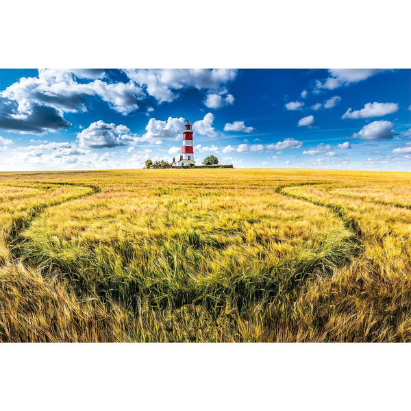 Ingooood Wooden Jigsaw Puzzle 1000 Pieces for Adult-Home on The Wheat Field - Ingooood jigsaw puzzle 1000 piece
