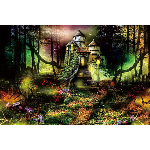 Ingooood Wooden Jigsaw Puzzle 1000 Pieces for Adult-Magic forest Castle - Ingooood jigsaw puzzle 1000 piece
