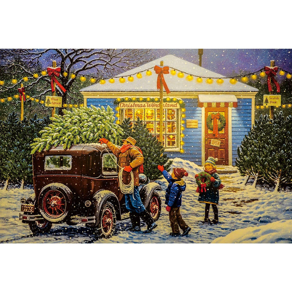 Ingooood Wooden Jigsaw Puzzle 1000 Pieces for Adult-Christmas Eve - Ingooood jigsaw puzzle 1000 piece