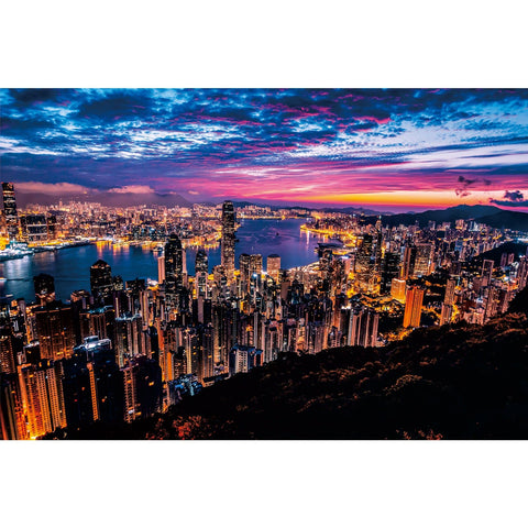 Ingooood Wooden Jigsaw Puzzle 1000 Pieces for Adult-Bustling night scene - Ingooood jigsaw puzzle 1000 piece