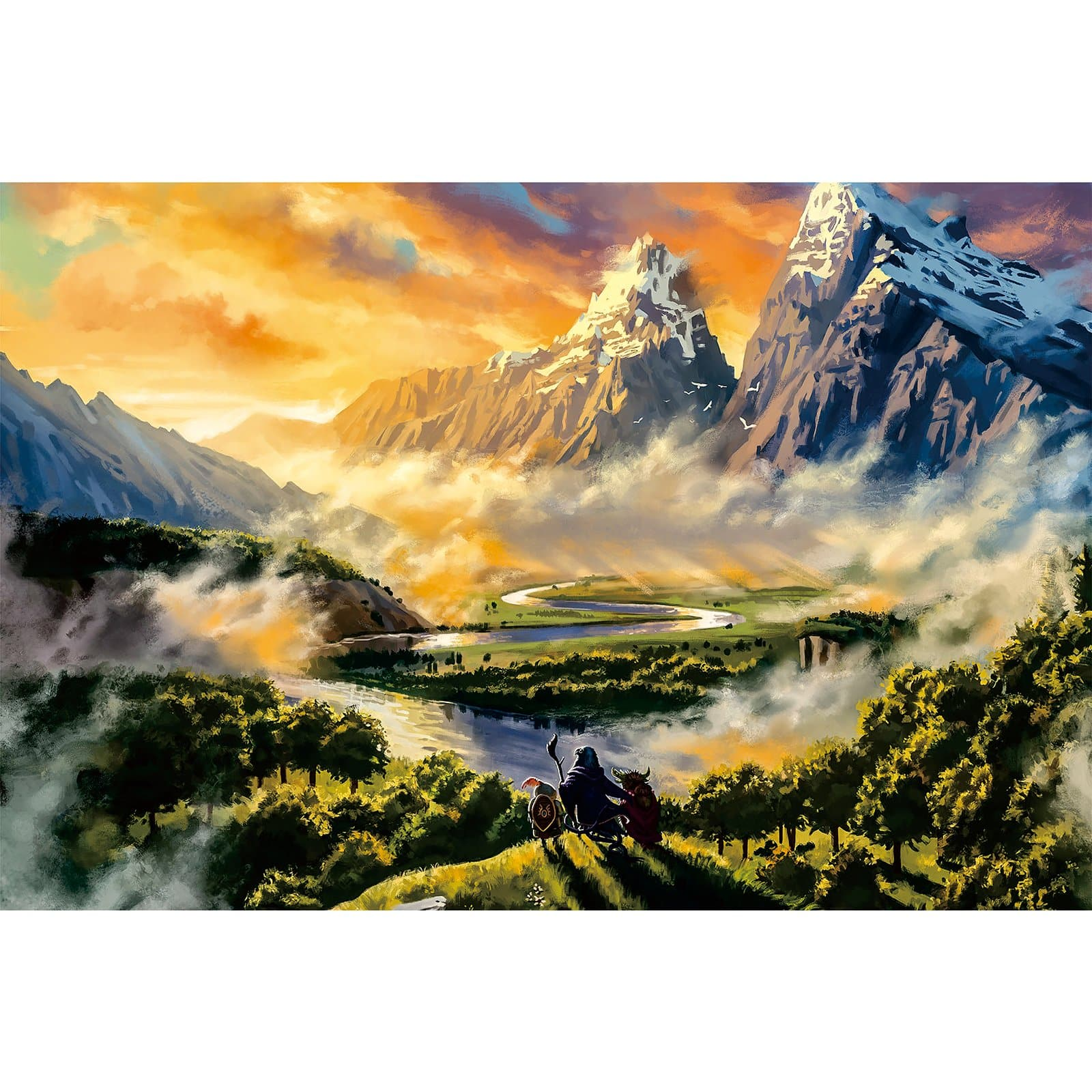 Ingooood Wooden Jigsaw Puzzle 1000 Pieces for Adult-Embark on a journey - Ingooood jigsaw puzzle 1000 piece