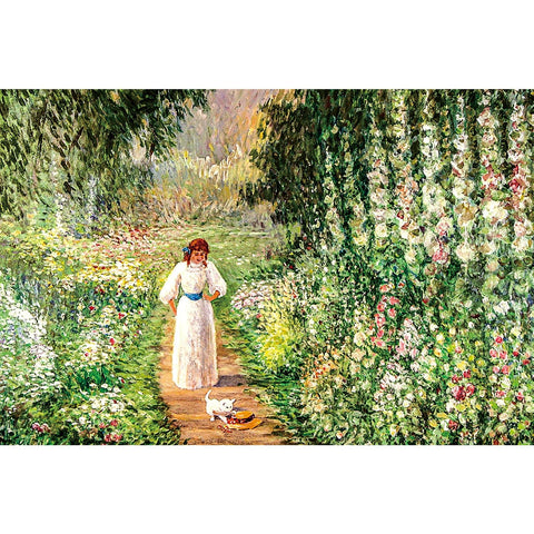 Ingooood Wooden Jigsaw Puzzle 1000 Pieces for Adult-Pastoral trail