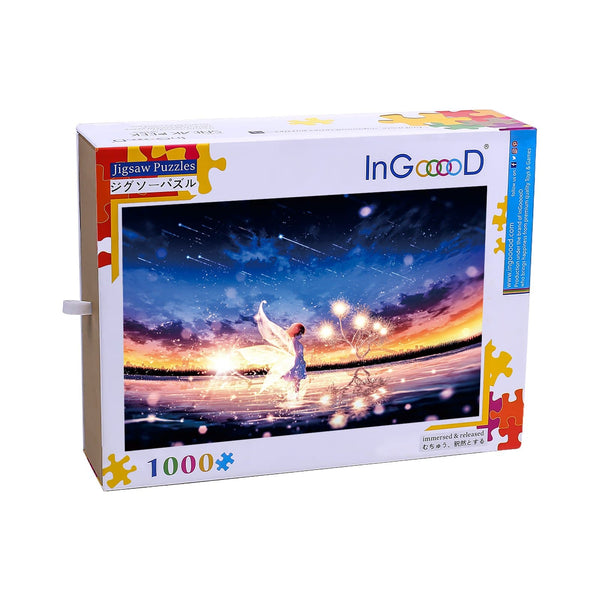 Ingooood Wooden Jigsaw Puzzle 1000 Pieces for Adult-Elf wish - Ingooood jigsaw puzzle 1000 piece