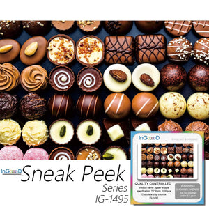 Ingooood-Jigsaw Puzzle 1000 Pieces-Sneak Peek Series-Chocolate chip cookies_IG-1495 Entertainment Toys for Adult Graduation or Birthday Gift Home Decor - Ingooood