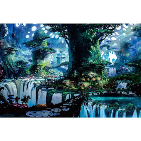 Ingooood-Jigsaw Puzzle 1000 Pieces-Sneak Peek Series-Magic Tree House_IG-1549 Entertainment Toys for Adult Graduation or Birthday Gift Home Decor - Ingooood_US