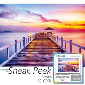 Ingooood- Jigsaw Puzzle 1000 Pieces- Sneak Peek Series-Sea Trestle_IG-0901 Entertainment Toys for Adult Special Graduation or Birthday Gift Home Decor - Ingooood