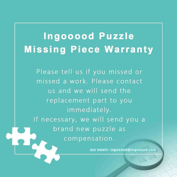 Ingooood-Jigsaw Puzzle 1000 Pieces-Sneak Peek Series-Small Town Carnival_IG-1558 Entertainment Toys for Adult Graduation or Birthday Gift Home Decor - Ingooood_US
