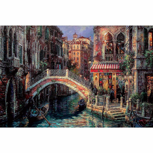Ingooood-Jigsaw Puzzle 1000 Pieces-Sneak Peek Series-Venice landscape_IG-1527 Entertainment Toys for Adult Graduation or Birthday Gift Home Decor - Ingooood