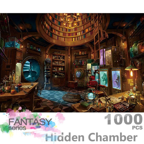Ingooood- Jigsaw Puzzle-Fantasy Series- Hidden Chamber -IG-0551 Entertainment Wooden Puzzles Toys - Ingooood