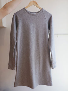 Raglan Sweater Dress - Grey