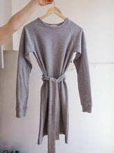 Load image into Gallery viewer, Raglan Sweater Dress - Grey