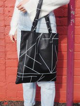 Load image into Gallery viewer, Leather Tote Bag - Print