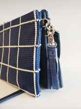 Load image into Gallery viewer, Double Take Bag - Navy + Woven