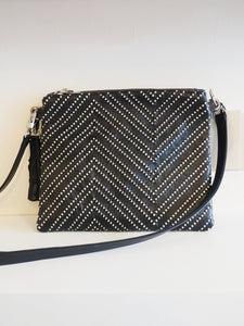 Double Take Bag - Black + Woven