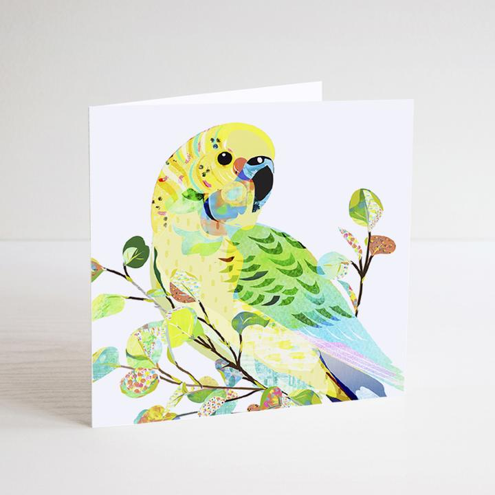 Budgerigar Mini Card